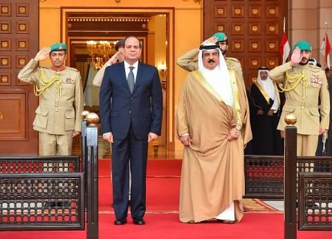 السيسي يشارك في فعاليات بالبحرين.. وحفل عشاء على شرف حضوره