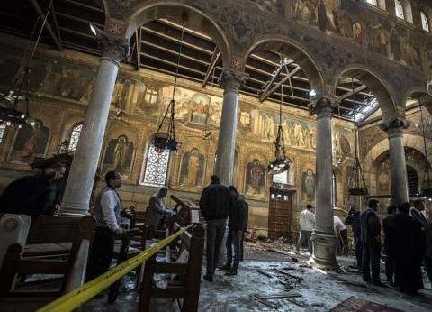 وزير التنمية المحلية يزور مصابي حادث تفجير كاتدرائية الإسكندرية