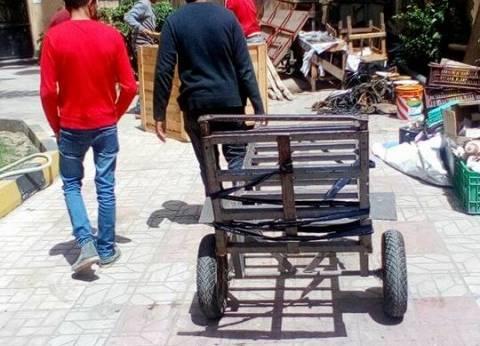 حملة لإزالة المخالفات والإشغالات بنطاق حي الجمرك بالإسكندرية