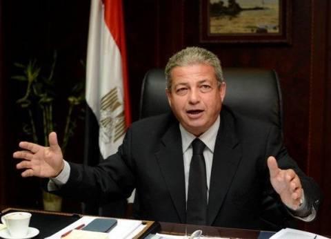 وزير الشباب من المنوفية: نسعى لاستكمال المشروعات المتوقفة منذ 25 عاما