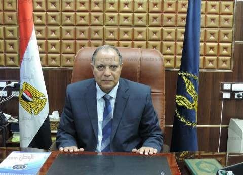 مدير أمن كفر الشيخ يؤدي صلاة الغائب على أرواح الشهداء