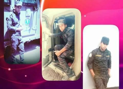 سوهاج تستعد لاستقبال جثمان شهيد اشتباكات الواحات حسن زين العابدين