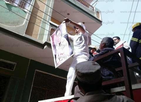 الآلاف يشيعون جثمان الشهيد محمود بهنسي بكفر سالم النحال في الغربية
