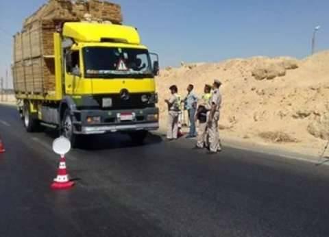 مصرع فرد أمن دهسته سيارة نقل في المنيا