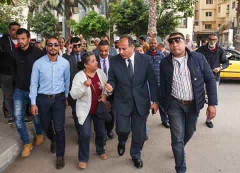 محافظ الإسكندرية: العملية الانتخابية تسير بشكل جيد