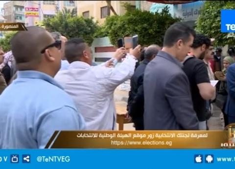محافظ الدقهلية يدلي بصوته في الاستفتاء على التعديلات الدستورية