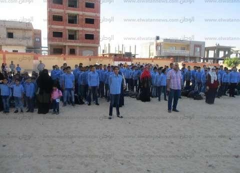 """""""تعليم شمال سيناء"""": انتظام العملية الدراسية في أول أيام العام الجديد"""
