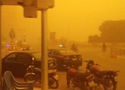رفع درجة الاستعداد القصوى بسبب العاصفة الترابية بسوهاج