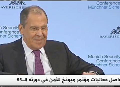 لافروف: حقوق الإنسان ستقول ما تريدون بشأن نظام الأسد