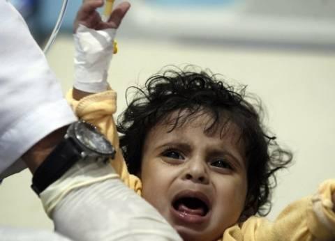 إحصائية لمنظمة بريطانية: طفل يمني يصاب بالكوليرا كل 6 دقائق