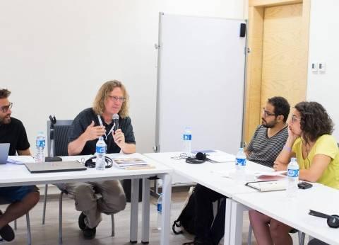 بالفيديو  السفارة الأمريكية تنظم ورشة لكتاب السيناريو على هامش مهرجان الجونة