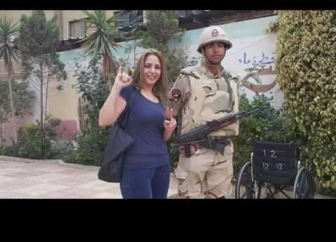 """أميرة نايف تشارك في الانتخابات الرئاسية: """"ياريت اللي منزلش ينزل"""""""