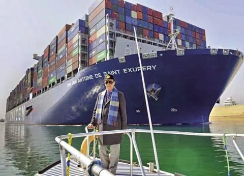 أكبر سفن الحاويات فى العالم تمنح «قناة السويس الجديدة» شهادة نجاح دولية