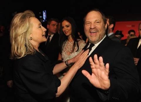 بالفيديو| شاهد ماذا قالت هيلاري كلينتون عن صديقها منتج هوليوود المتحرش