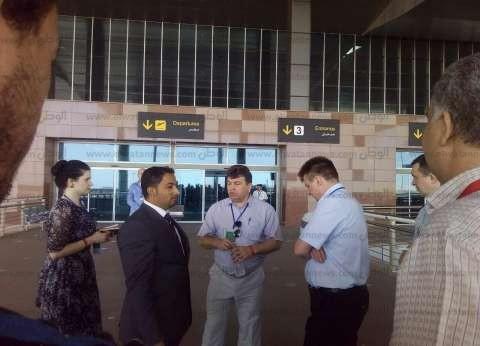 وفد روسي يزور مطار الغردقة الدولي لإعداد تقرير نهائي حول عودة السياحة
