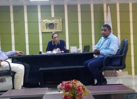 لجنة فحص الهبوط الأرضي بالطريق الدولي في جنوب سيناء: ظاهرة طبيعية