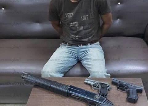 ضبط تاجر أسلحة نارية وذخائر دون ترخيص في الغربية