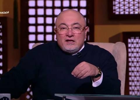 """بالفيديو  خالد الجندي: """"جماعات الشر"""" وراء شائعة فتوى """"شرب البيرة"""""""