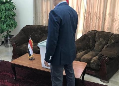 بالصور| المصريون في أفغانستان يدلون بأصواتهم في الاستفتاء