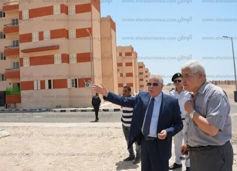 فودة: إنهاء أزمة الإسكان الاجتماعي في جنوب سيناء بحلول عام 2020