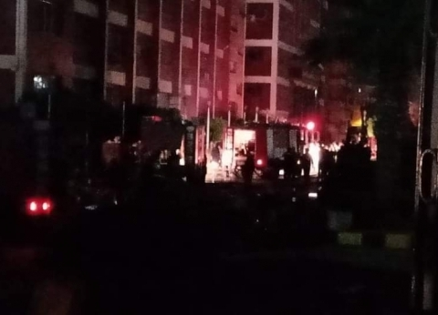 السيطرة على حريق محدود في مديرية أمن الدقهلية
