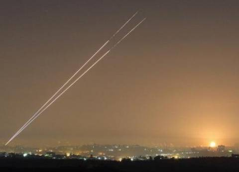 """مصدر سوري لـ""""الوطن"""": إسقاط صاروخين استهدفا مطار الضمير العسكري بدمشق"""