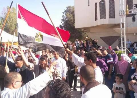 """انتخابات المصريين في عمان تكتمل مع رقصة بالعصا و""""مش وفطير مشلتت"""""""