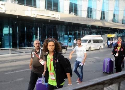 وفد أمريكي رفيع المستوى يشيد بإجراءات التأمين بمطار القاهرة
