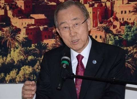 """""""بان كي مون"""" يقول إن نشر نظام """"ثاد"""" في كوريا الجنوبية مناسب"""