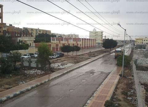 أمطار متوسطة على محافظة الدقهلية.. وتحذيرات من الاقتراب من أعمدة الإنارة
