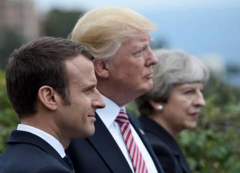 بريطانيا وفرنسا من مباركة هجوم أمريكا على سوريا للمشاركة معها