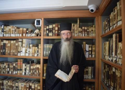 وزير الآثار: افتتاح مكتبة دير سانت كاترين رسالة أمان للعالم