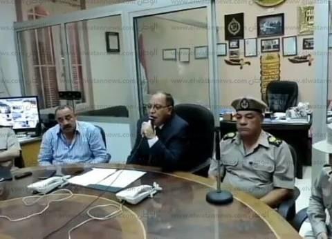 بالصور| مدير أمن كفر الشيخ يشدد على الضباط الجدد بحسن معاملة المواطنين