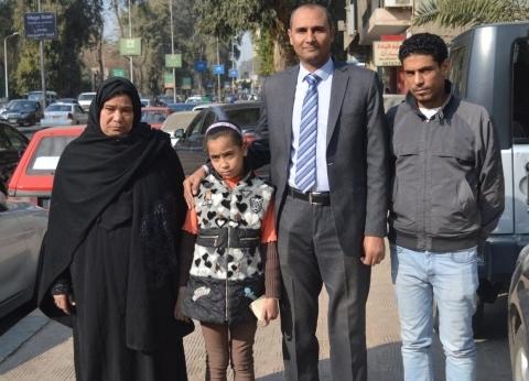 """وزارة الهجرة تسلم أسرة """"شهيد الشهامة"""" تبرعات المصريين بالخارج"""