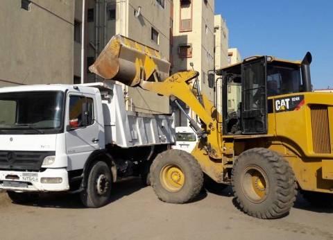 """حملة لرفع تجمعات القمامة ومكافحة القوارض بـ""""زهور بورسعيد"""""""
