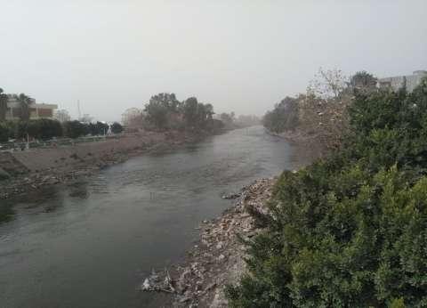 بالصور| عواصف ترابية في المنوفية وانقطاع الكهرباء عن قرى الإقليم