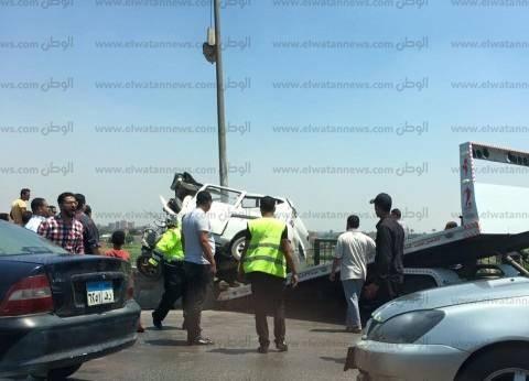 مصرع شخصين وإصابة آخر في حادث تصادم بأسيوط