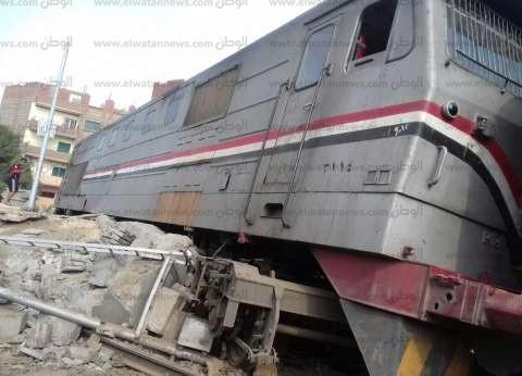 """إحالة سائق قطار حادث المنيا لـ""""التأديبية"""": لم يلتزم بالسرعات المقررة"""