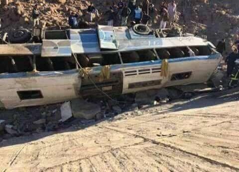 """وكيل """"صحة جنوب سيناء"""": الدفع بـ22 سيارة إسعاف لنقل مصابي أتوبيس نويبع"""