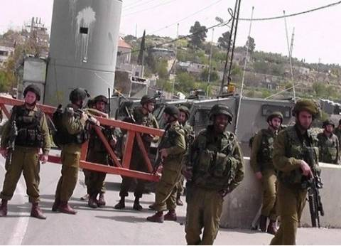 قوات الاحتلال الإسرائيلي تفرض طوقا عسكريا على الضفة لـ11 يوما