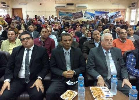 بالصور| محافظ جنوب سيناء يفتتح مبادرة «لائق للاختلاف» بالطور
