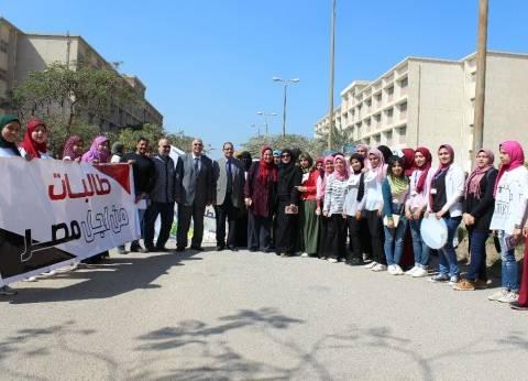 ماراثون رياضى بمهرجان الأنشطة الطلابية في جامعة المنيا