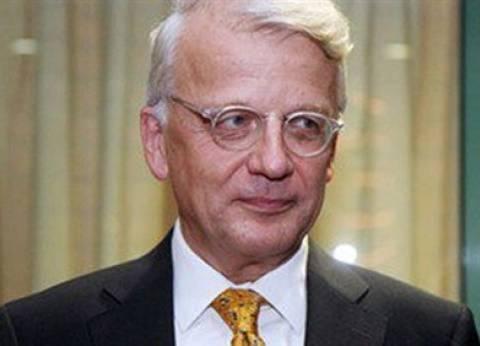 سفير ألمانيا بالقاهرة : البرلمان الجديد يسد ثغرة في العملية السياسية المصرية