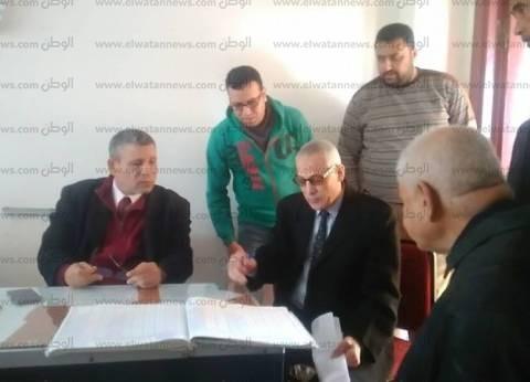 مدير تعليم سيدي سالم يتابع الانضباط وتوريد المصروفات داخل المدارس
