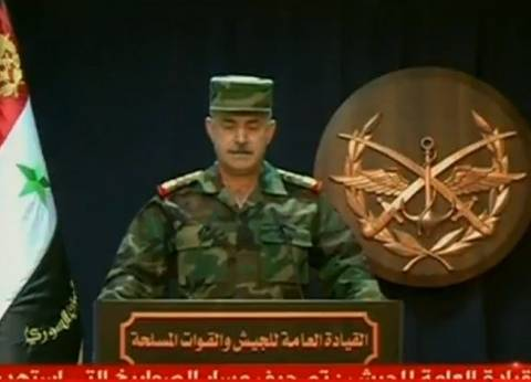 عاجل| الجيش السوري: هذه الاعتداءات لن تثنينا عن سحق بقية الإرهابيين