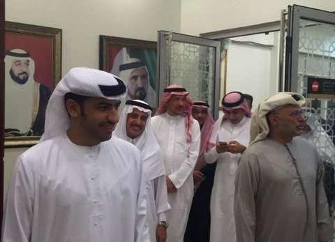 بالصور| وصول البعثة الدبلوماسية السعودية من إيران إلى دبي