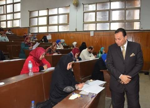 انطلاق الدراسة بكليات جامعة المنوفية وسط استعدادات أمنية مكثفة