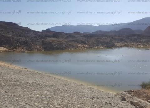 """""""جوفية جنوب سيناء"""": سد الإسباعية حجز مياه أمطار سانت كاترين"""