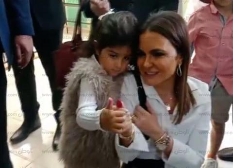 """سحر نصر عن مشاركتها في الاستفتاء: """"دا واجب وطني"""""""