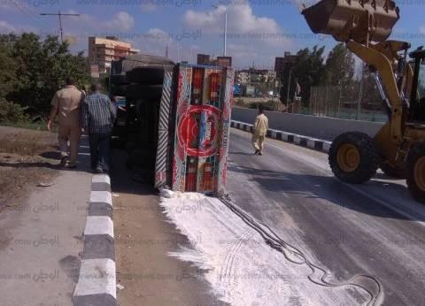 إصابة 4 أشخاص في حادث انقلاب سيارة بجنوب سيناء